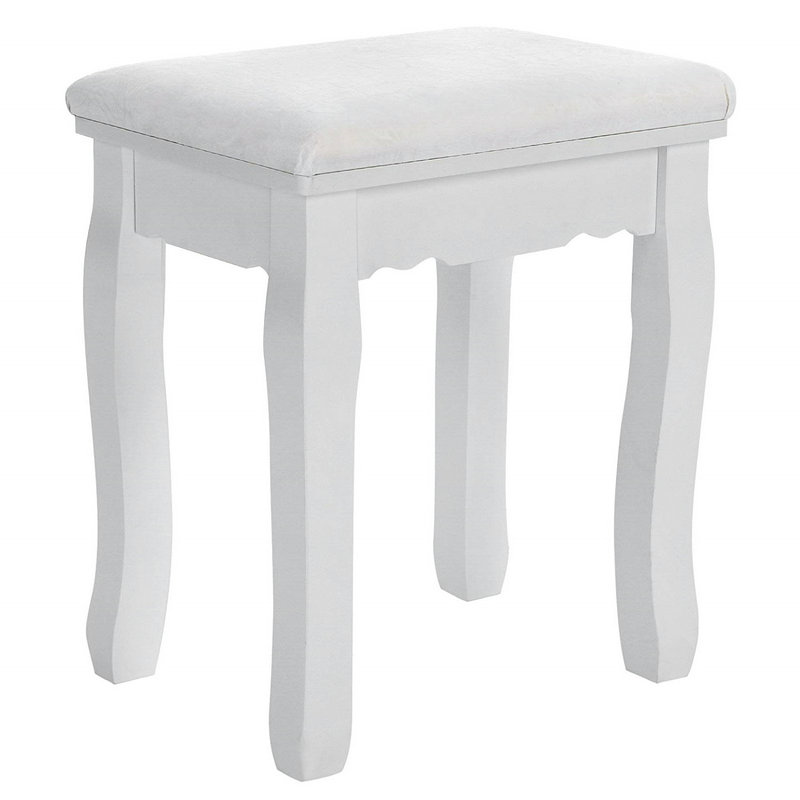 White Dressing stool