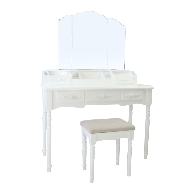 3 Pumping 3 Mirror Full Mirror Dressing Table