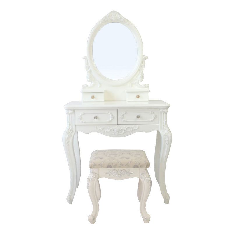 4 Pumping Embossed Dressing Table