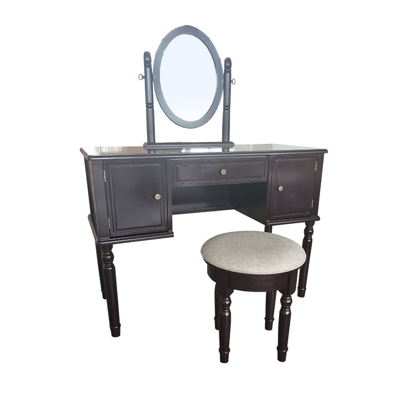 Vintage Retro 3 Pumping 2 Door Dressing Table