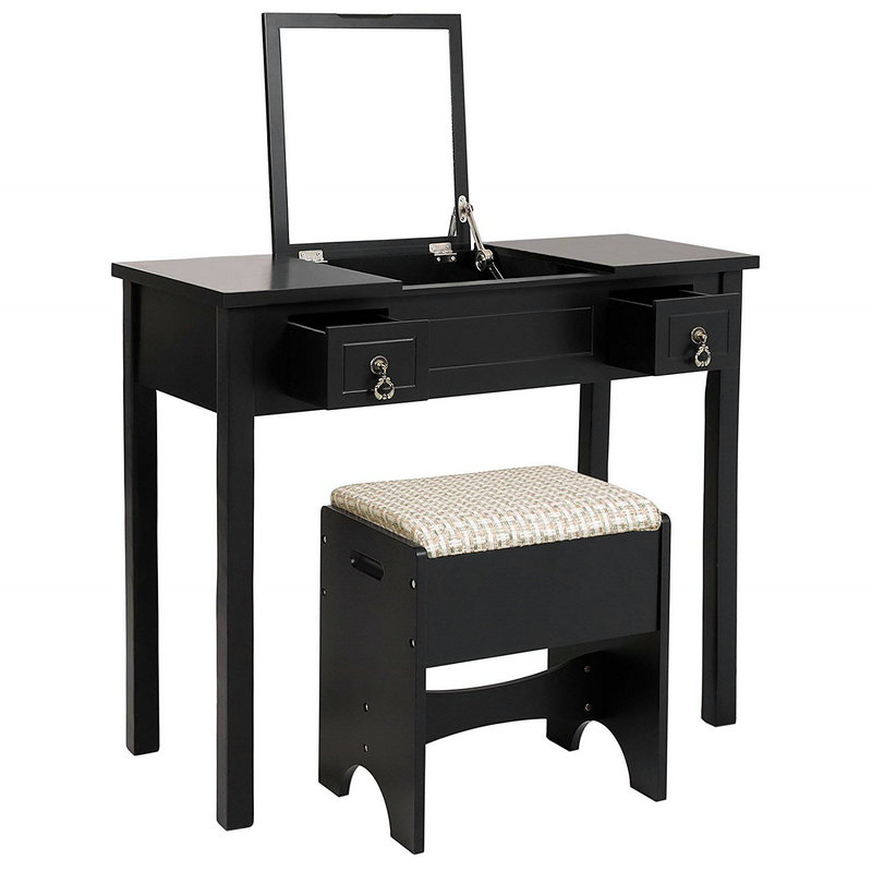 2 Flip Cover Dressing Table