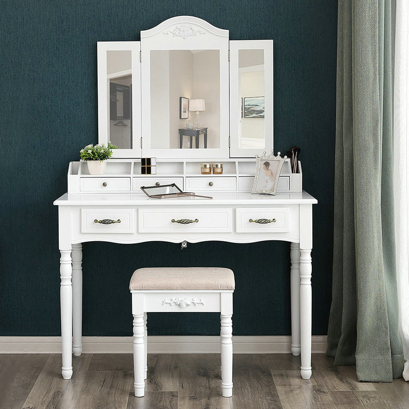 Is the bedroom dresser practical? Where is the dresser suitable in the bedroom?