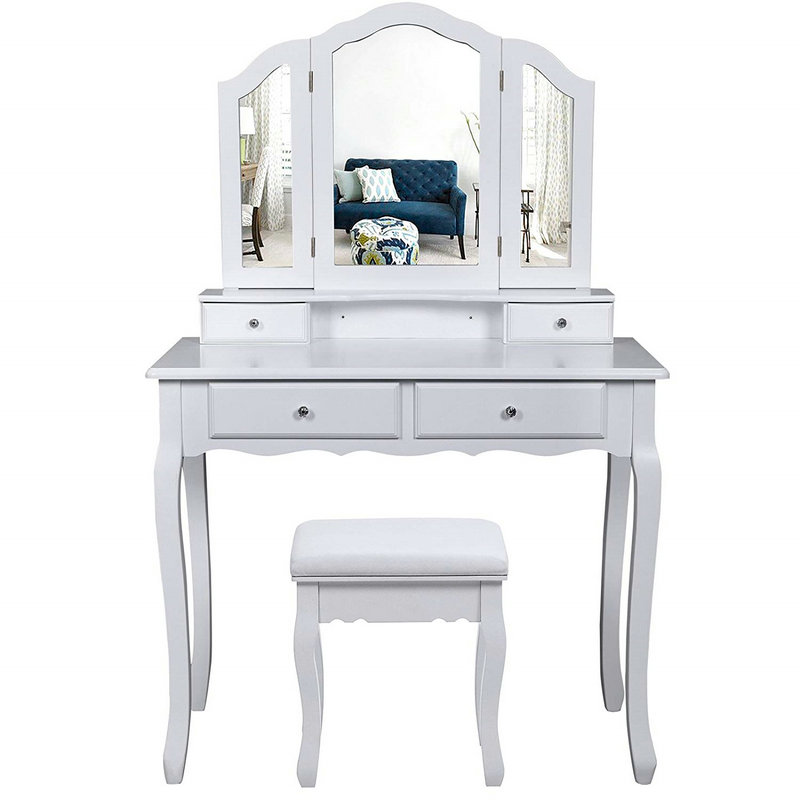 4 Pumping 3 Mirror Dressing Table
